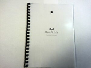 apple ipad air 2 ios 8 1 printed instruction manual guide 164 pages rh ebay ie apple pages user manual apple pages user manual pdf