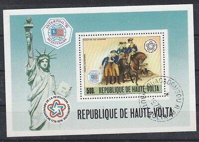 Briefmarken Nachdenklich V4751 Obervolta-burkina Faso/ Uniformen-pferde Minr Block 440 O 2019 Offiziell
