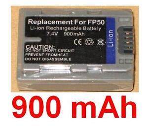 Akku-900mAh-Typ-NP-FP30-NP-FP50-NP-FP51-fuer-Sony-DCR-DVD202E
