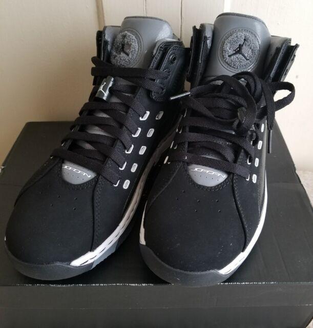 910b64c7c02 Nike Mens Jordan Ol'School Black White Cool Grey Size 8.5 Shoes Sneakers