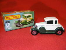 Matchbox Lesney Superfast no 73 Model 'A' Ford - Spare Wheel Version.