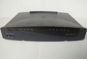 En Herbe Cisco 800 Series Modèle Cisco 801 Lan Ethernet Services Intégrés 4-port Router-afficher Le Titre D'origine