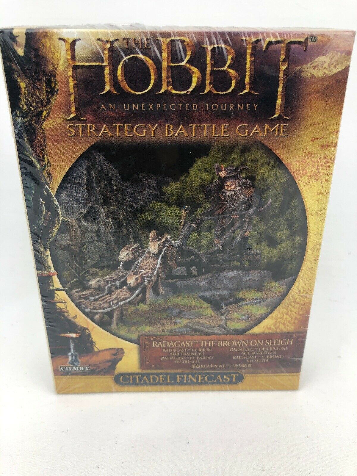 Juegos Workshop HOBBIT Radagast el marrón en trineo Warhammer finecast Nuevo