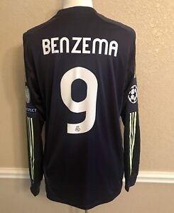quality design bb2a4 efade Details about Real Madrid Formotion Benzema France Shirt Player Issue Match  unworn Jersey