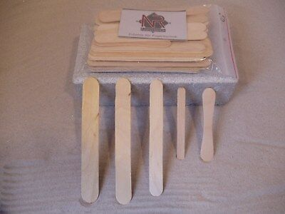 50Stück Fugenholz Abzieher Holzspachtel Holzmundspachtel Spachtel gemischt