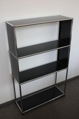 USM Haller Bücher-Regal Schrank Sideboard 25er Tiefe 125cm Höhe