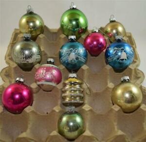 12-Vintage-Metal-Ornaments-Shiny-Brite-Lot-7