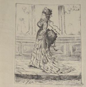 LA-RUE-Gravure-Originale-FELIX-OUDART-illustre-Jules-Valles