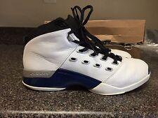 10.5 Nike Air Jordan 17 OG Blue Retro 1 2 3 4 5 6 7 8 9 10 11 12 13 14 White