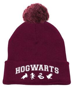 2fa47834403 Caricamento dell immagine in corso Harry-Potter-034-Hogwarts-039-S-Cappello- Beanie-