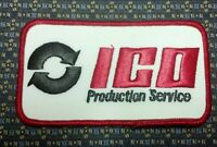 Ico Production Service Iron Or Sew-on Patch 4.5x2.5