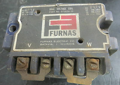 NEW NO BOX FURNAS DUAL VOLTAGE COIL D71628-31