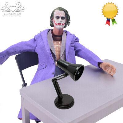 1//6Bright Table Lamp Color Desk Lamp Furniture Scene Accessories Fit 12/'/' Figure