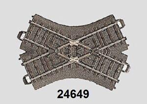 Maerklin-H0-24649-C-Gleis-Kreuzung-103-3-mm-48-6-NEU-OVP