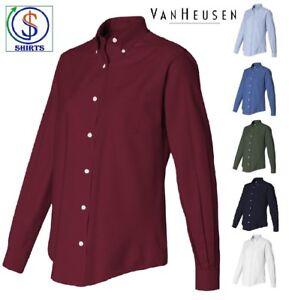 Van-Heusen-Women-039-s-Oxford-Shirt-13V0002-59800-Ladies-039-S-M-L-XL-2XL-3XL-on-SALE