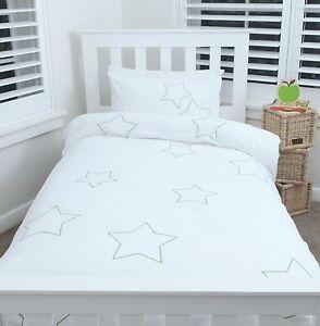 039-STARS-039-SINGLE-DOONA-COVER-w-PILLOWCASE-KIDS-QUILT-SET-BOY-GIRLS-BED-LINEN-SHEET