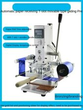 Manual Digital Pvc Card Embossing Hot Foil Stamping Machine Heat Press Machine