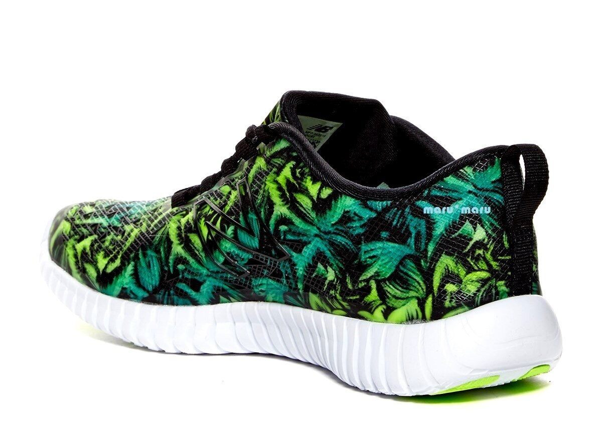 New Damenschuhe NEW Tropical BALANCE '99 Flexonic' Schuhes 8.5 Green Tropical NEW running flower 45ea16