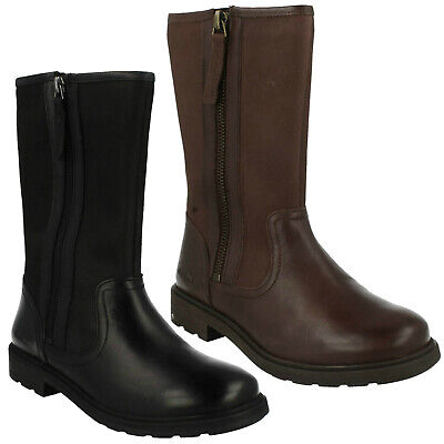 Girls Clarks Casual Boots Ines Rain