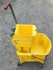 Continental 26qt Yellow Mop Bucket Amp Wringer Commercial Floor 226 310yw 226 312