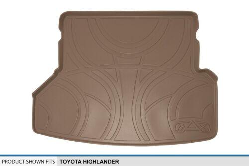 Cargo TAN Floor Liners Mats Custom Fit MAXLINER MAXTRAY Trunk Mat