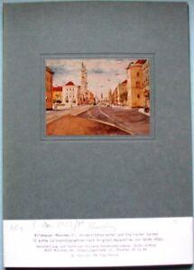 Bildmappe-Muenchen-I-Georg-Hoegel-12-Colorfotos-englischer-Garten-Universitaetsvie