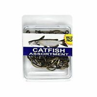 Catfish Hook Assortment (two Packs) By Eagle Claw, 40 Hooks Per Pack Spcat
