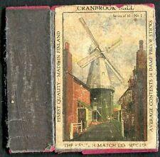 C1950's Match Box Label - Cranbrook Mill