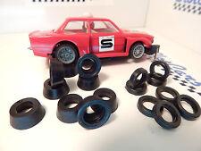 CARRERA Servo 140 (1° VERSION) 8 + 8   pneus AV/AR