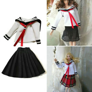 1//6 Scale Gile Uniform Clothes Shirts Skirts Shoes for 12/'/' Phicen Action Figure