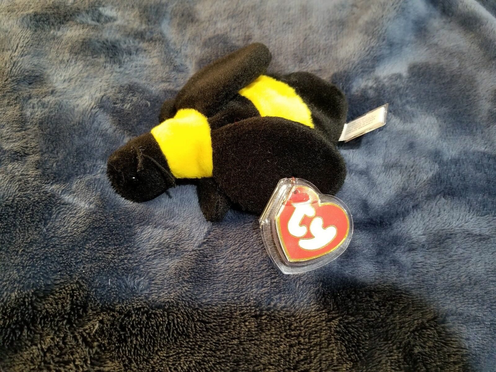 TY Beanie Baby--Bumble the Bee... MWMT           Rare