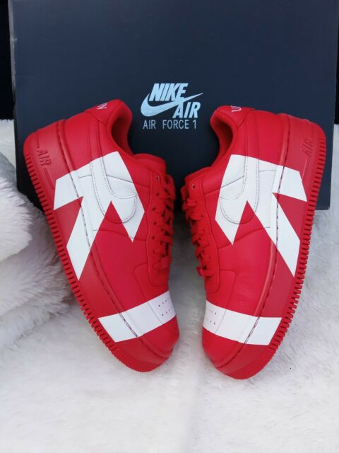 921e06ecde96aa 7 Women s w Nike Air Force 1 Upstep arrows Uptown 898421-601 Red white  casual