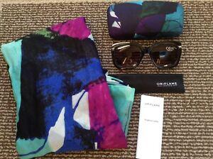 Summer Glam Oriflame Wrap Sarong Glasses Set Case Multi Coloured Women Beach