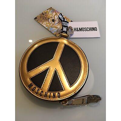 MOSCHINO [TV] H&M Geldbörse Peacezeichen NEU (Ausverkauft)