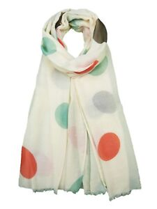 LADIES POLKA DOT Scarf  Spotty Print Soft Material Shawl Polyester Wrap Sarong