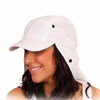 NEW MENS WOMENS LADIES LEGIONNAIRE SUMMER UV PROTECT UPF 40+ SUN HAT 3 COLOURS