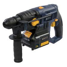 SDS-Plus-Akku-Bohrhammer GMC, 18 V Bohrmaschine Meißelhammer Schlag + Zubehör