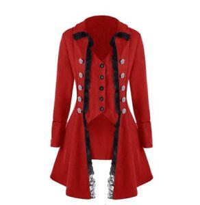 Retro-Gothic-Coat-Womens-Steampunk-Victorian-Tailcoat-Corset-Rock-cosplay-Jacket