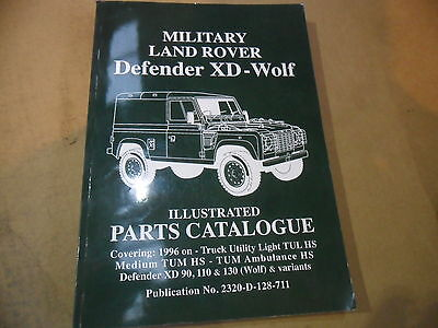 LAND ROVER DEFENDER WOLF XD ILLUSTRATED PARTS CATALOGUE Auto ...