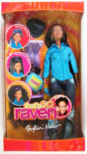 NEW That/'s So Raven Stylin/' Hair Doll