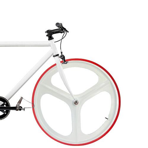 """Hinterrad Singlespeed Fixie 28/"""" mit Reifen+Schlauch RIDDOX Laufradsatz Vorder-o"""