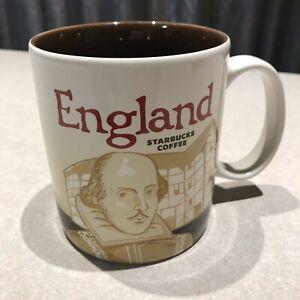 Starbucks-Coffee-England-Shakespeare-16Oz-Mug-Beige-Brown-I-am-Here-Collection