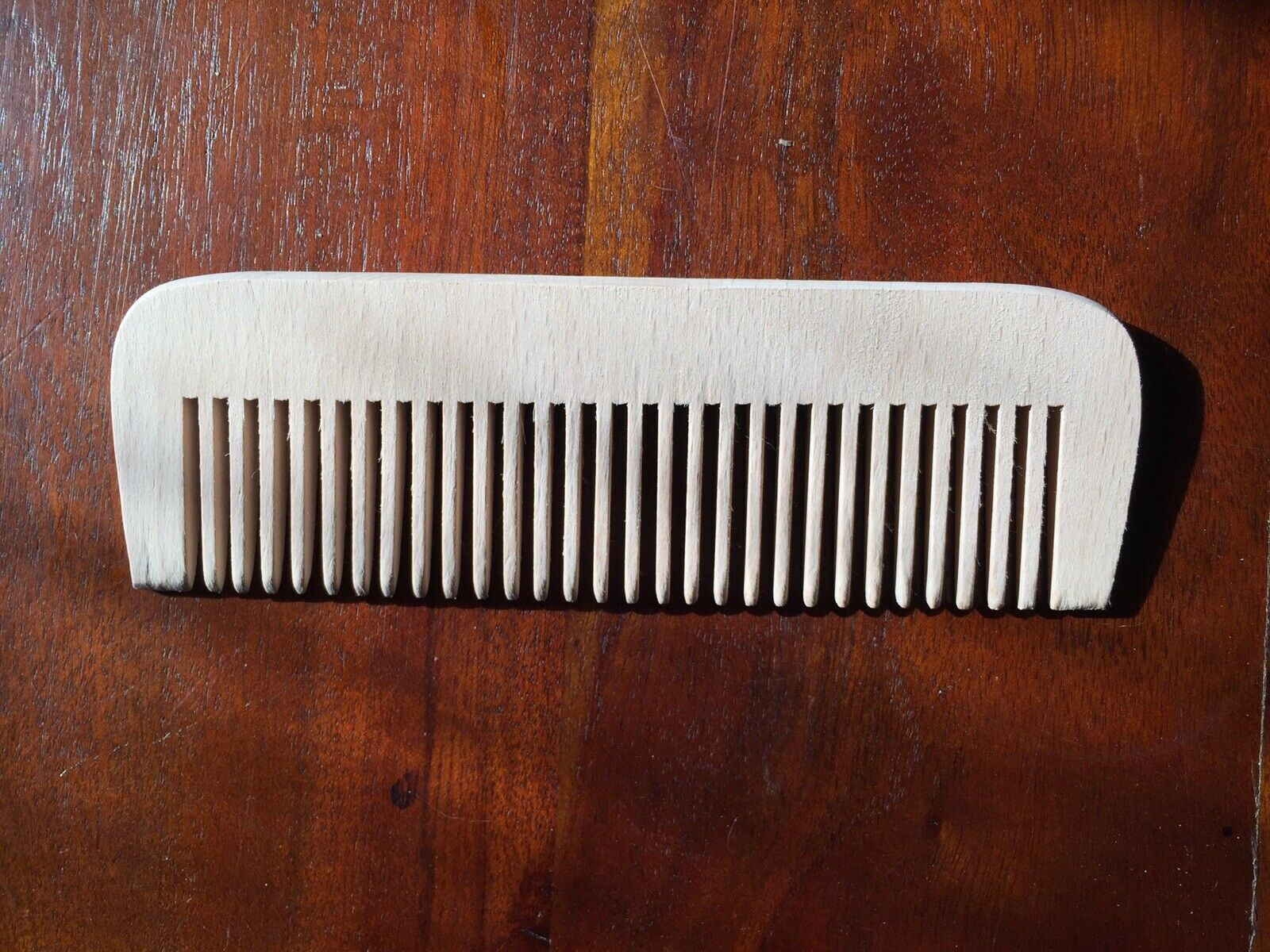 Hipster Beard Comb 6.5 inches wooden