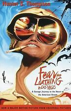 Fear and Loathing in Las Vegas : A Savage Journey to the Heart of the American Dream by Hunter S. Thompson (1998, Paperback, Movie Tie-In)