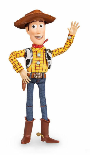 Toy story pull string woody 16in talking figure disney for sale online ebay - Cochon de toy story ...