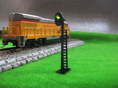 scala H0 Segnale semaforico di arresto nuovo a LED