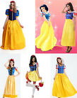 Disney Princess Snow White Costume Women Halloween Fairytale Cosplay Outfit New