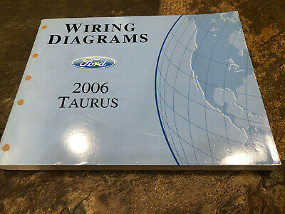 2006 Ford Taurus Wiring Diagrams Electrical Service Manual | eBayeBay