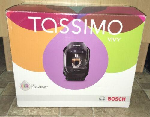1 of 1 - Bosch Tassimo Vivy TAS1252GB Automatic Hot Drink Coffee Machine 1300W Black
