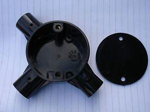 Circular Junction Boxes  3 Way Tee - Ipswich, United Kingdom - Circular Junction Boxes  3 Way Tee - Ipswich, United Kingdom